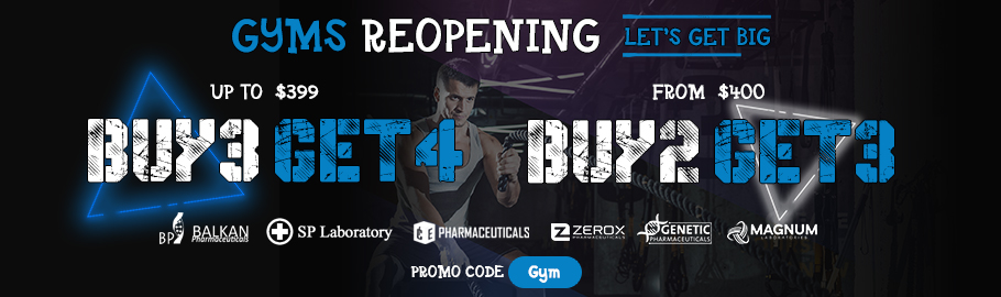 Gyms reopening - Let's get big