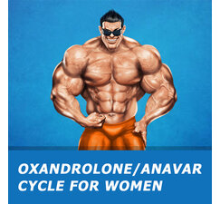 Oxandrolone/Anavar cycle for women