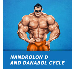Nandrolon D and Danabol cycle